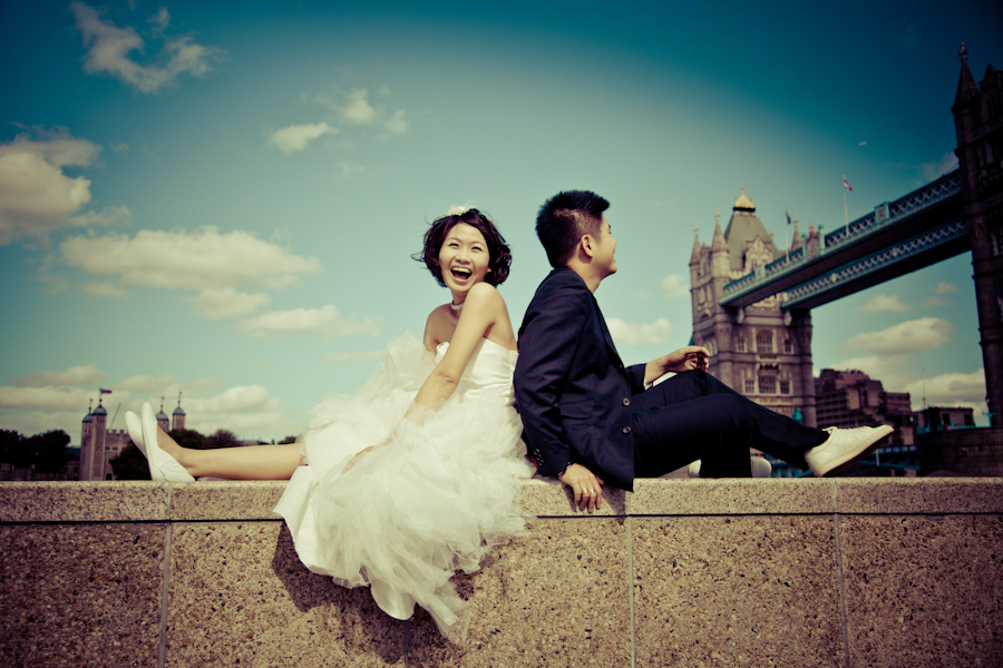 Ikon and Elaine London Pre-wedding Photography
