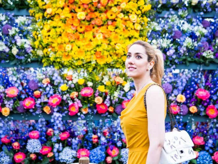 Ava @ Chelsea Flower Show